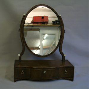 Georgian toilet mirror/williamsantiques