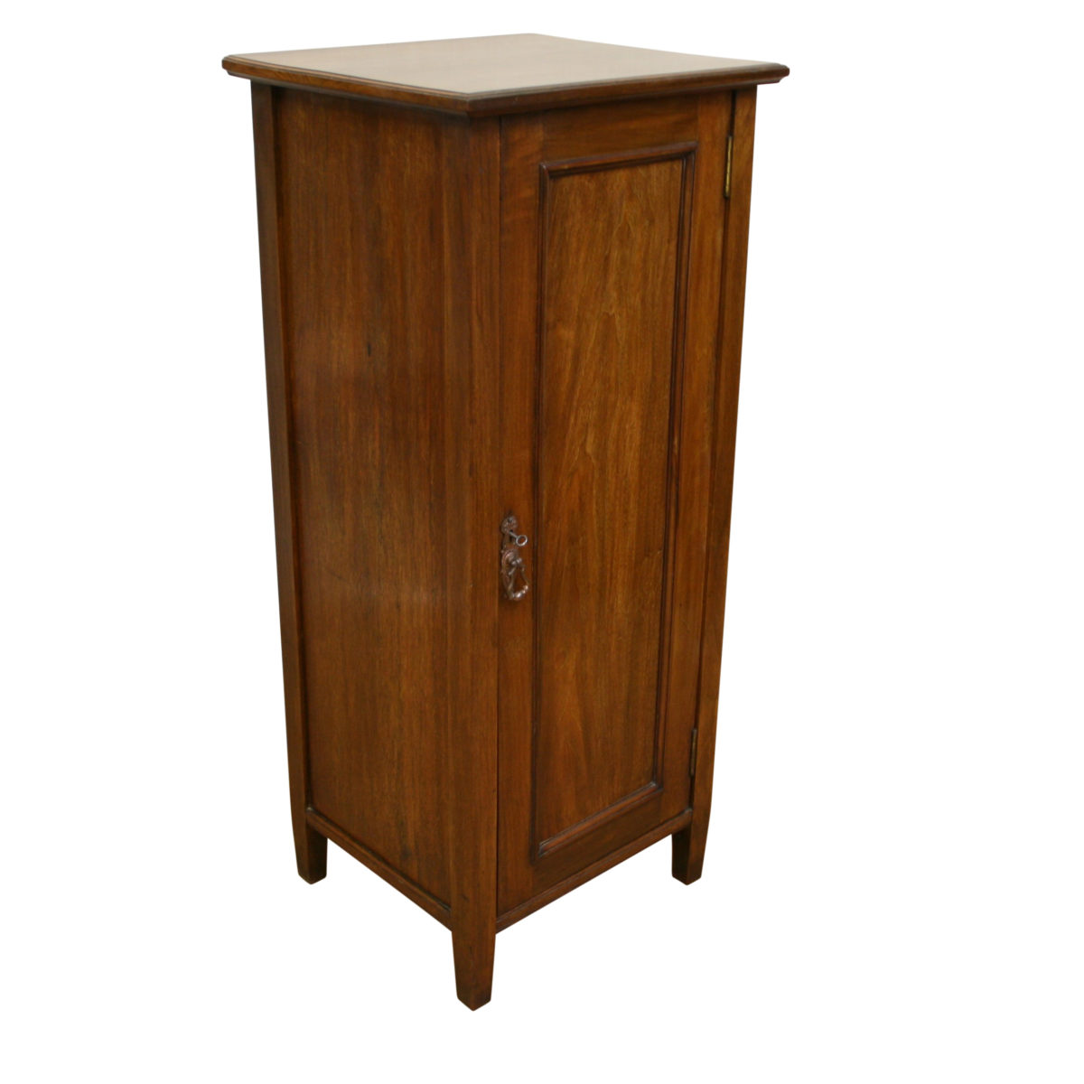 Edwardian American black walnut cupboard/williamsantiques