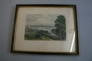 engraved view of the city and port of Plymouth/williamsantiques