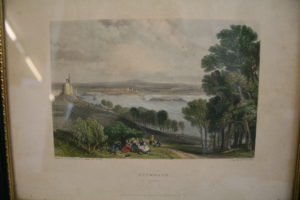 engraved view of the city and port of Plymouth