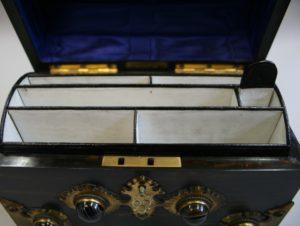 Victorian Coromandel wood stationary set/williamsantiques
