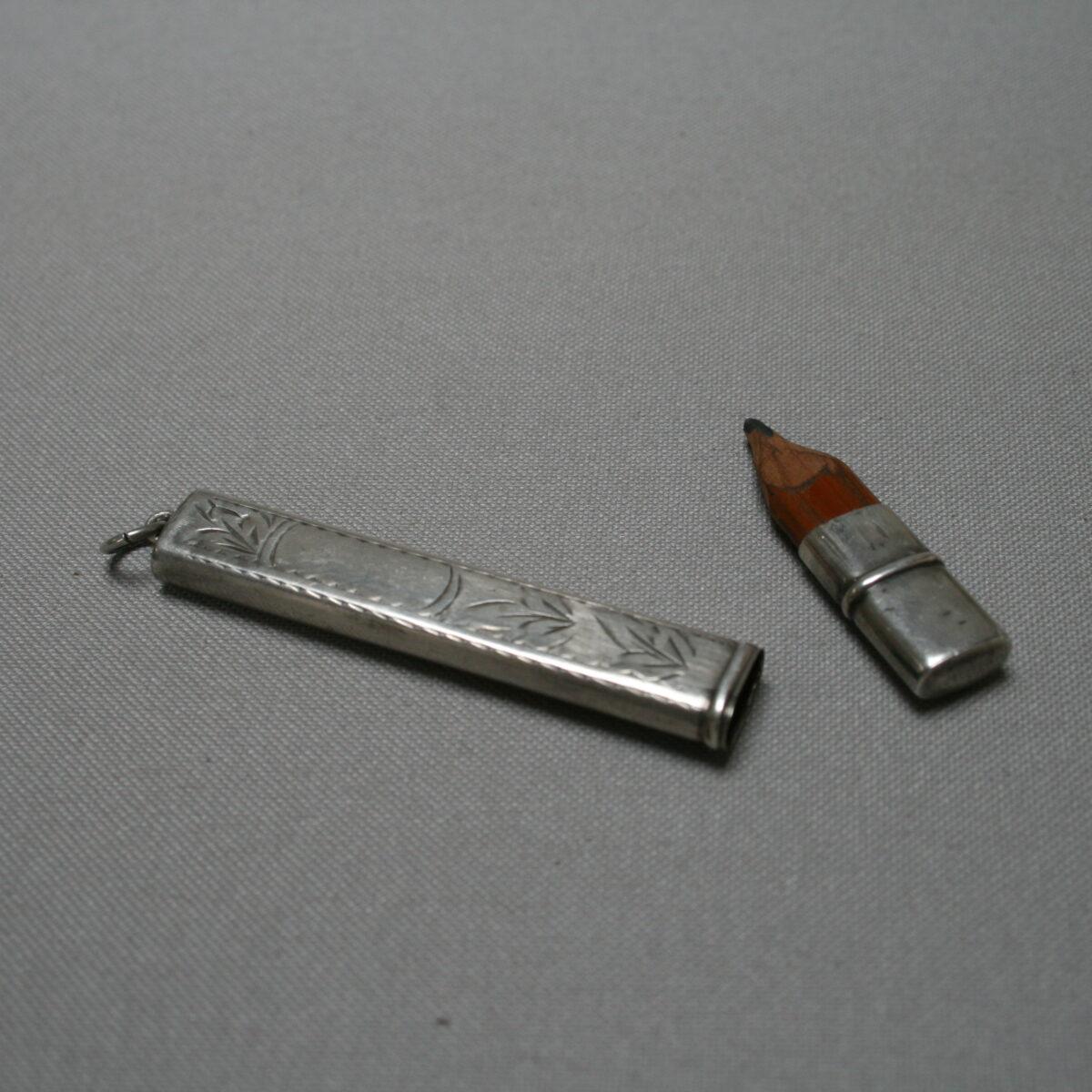 silver carpenters pencil/williamsantiques