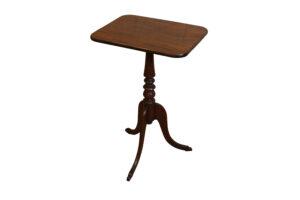 mahogany tripod table/williamsantiques