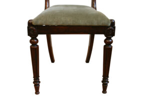 rosewood William IV dining chairs/williamsantiques
