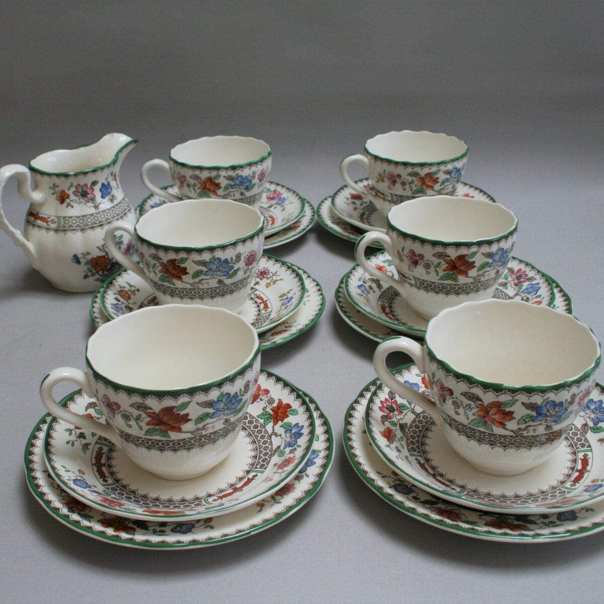 Copeland Spode tea cups/williamsantiques