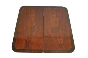 Victorian mahogany tea table/williamsantiques