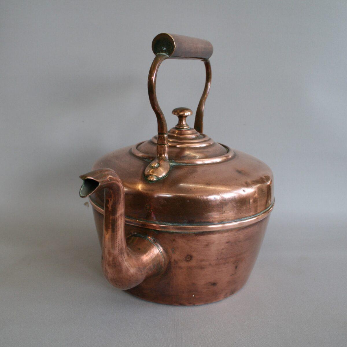 Victorian copper kettle/williamsantiques